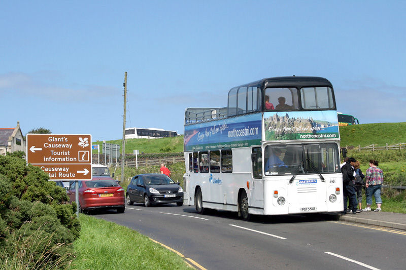 Atlantean 4901  - Giant's Causeway - August 2010 - [ Paul Savage ]