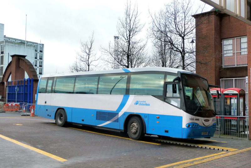 Scania/Irizar 1699 - GVS - Dec 2012 [ Paul Savage ]