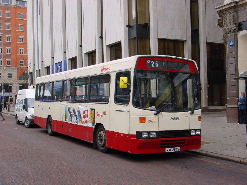 Tiger 2679 - Metro fleetnames - Belfast Jan 2005
