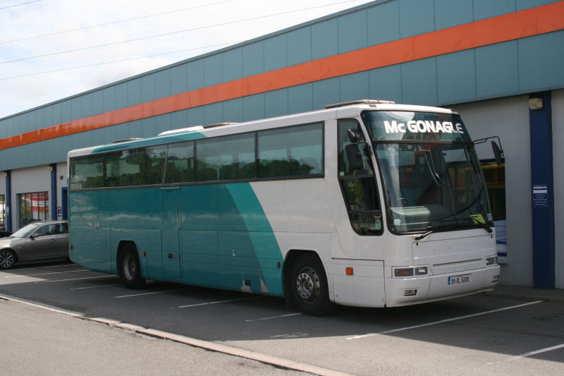 Former Volvo B10M 504 with McGonagle - Donegal - July 2010 - [ Paul Rafferty ]